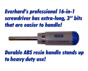 DA86355 Everhard 16-in-1 Screwdriver