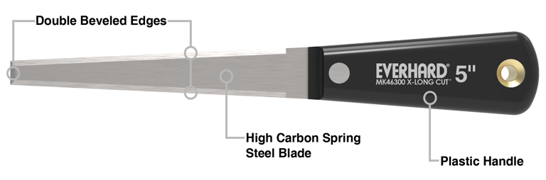 "MK46300 5"" Insulation Knife.specs"